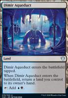 Commander 2020: Dimir Aqueduct