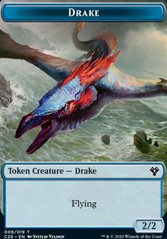 Commander 2020: Drake Token // Human Soldier Token (005)