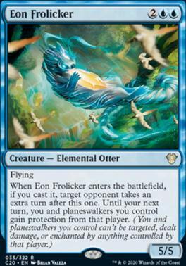 Commander 2020: Eon Frolicker