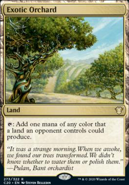 Commander 2020: Exotic Orchard