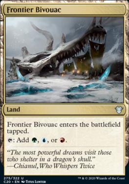 Commander 2020: Frontier Bivouac