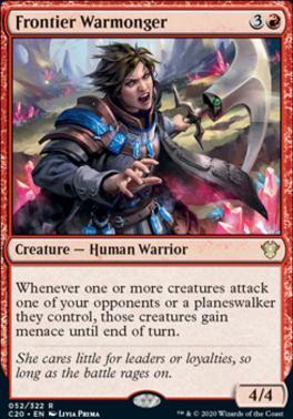 Commander 2020: Frontier Warmonger