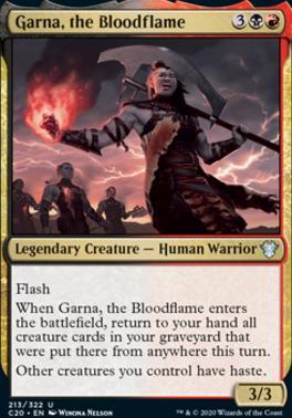 Commander 2020: Garna, the Bloodflame
