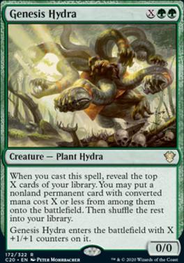 Commander 2020: Genesis Hydra