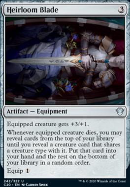 Commander 2020: Heirloom Blade