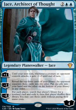 Commander 2020: Jace, Architect of Thought