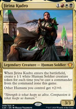 Commander 2020 Foil: Jirina Kudro