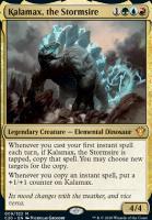 Commander 2020 Foil: Kalamax, the Stormsire