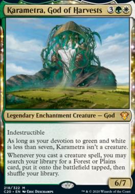 Commander 2020: Karametra, God of Harvests