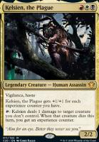 Commander 2020 Foil: Kelsien, the Plague