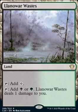 Commander 2020: Llanowar Wastes