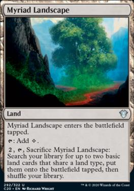 Commander 2020: Myriad Landscape