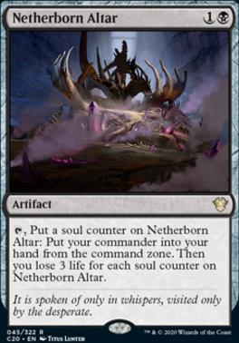 Commander 2020: Netherborn Altar