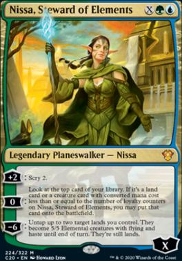 Commander 2020: Nissa, Steward of Elements