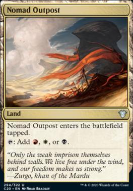 Commander 2020: Nomad Outpost
