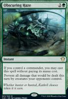 Commander 2020: Obscuring Haze
