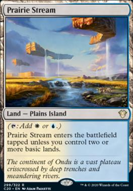 Commander 2020: Prairie Stream