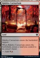 Commander 2020: Rakdos Carnarium