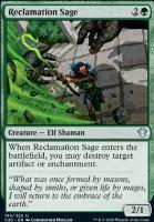 Commander 2020: Reclamation Sage