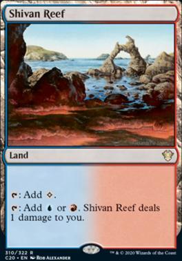 Commander 2020: Shivan Reef