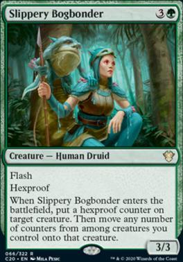 Commander 2020: Slippery Bogbonder