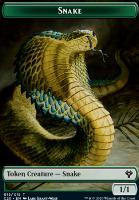 Commander 2020: Snake Token // Beast Token