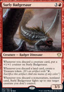 Commander 2020: Surly Badgersaur