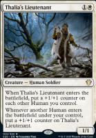 Commander 2020: Thalia's Lieutenant