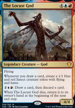 Commander 2020: The Locust God