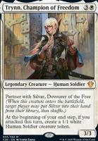 Commander 2020 Foil: Trynn, Champion of Freedom