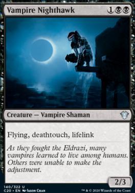 Commander 2020: Vampire Nighthawk