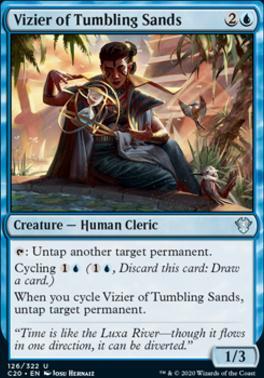 Commander 2020: Vizier of Tumbling Sands
