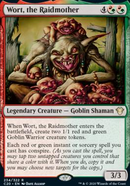 Commander 2020: Wort, the Raidmother
