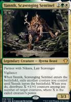 Commander 2020: Yannik, Scavenging Sentinel
