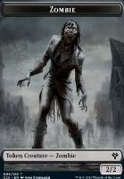 Commander 2020: Zombie Token // Human Soldier Token (003)