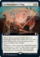Commander 2021 Variants: Archaeomancer's Map (Extended Art)