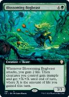 Commander 2021 Variants: Blossoming Bogbeast (Extended Art)