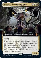 Commander 2021 Variants: Breena, the Demagogue (Extended Art)