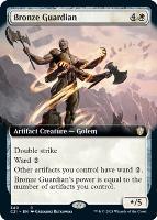 Commander 2021 Variants: Bronze Guardian (Extended Art)