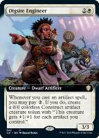 Commander 2021 Variants: Digsite Engineer (Extended Art)