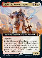 Commander 2021 Variants: Osgir, the Reconstructor (Extended Art)