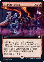 Commander 2021 Variants: Rousing Refrain (Extended Art)