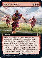 Commander 2021 Variants: Surge to Victory (Extended Art)