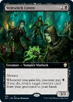 Commander 2021 Variants: Veinwitch Coven (Extended Art)