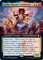 Commander 2021 Variants: Zaffai, Thunder Conductor (Extended Art)