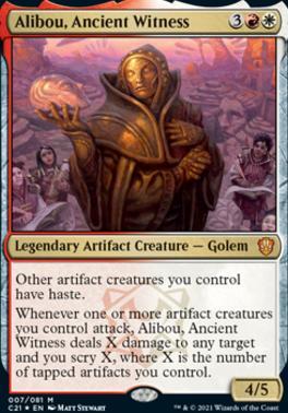 Commander 2021: Alibou, Ancient Witness (Foil)