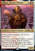 Commander 2021: Alibou, Ancient Witness (Foil)