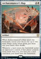 Commander 2021: Archaeomancer's Map