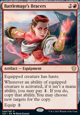 Commander 2021: Battlemage's Bracers