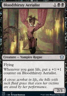 Commander 2021: Bloodthirsty Aerialist